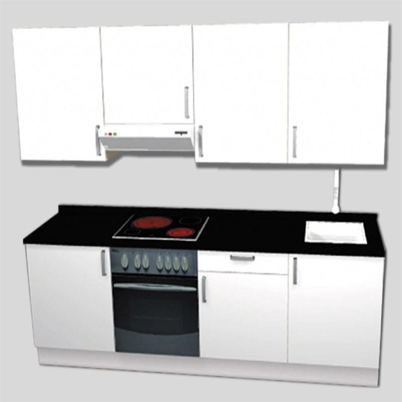 COCINA EN KIT 240 CM | Alife Electrodomésticos